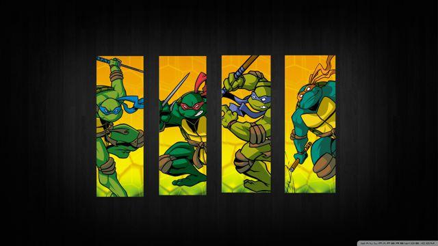 超帅的忍者神龟
