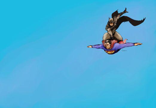 超人和蝙蝠侠