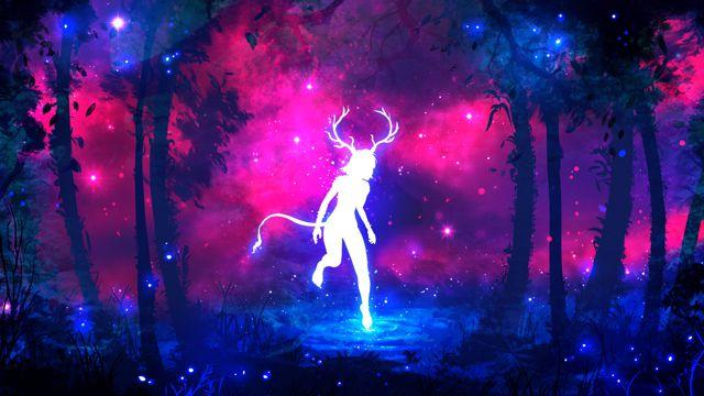 丛林里的鹿女