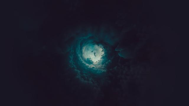 藏在天空中的洞穴