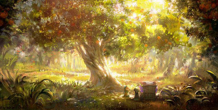妖精树林的小不点
