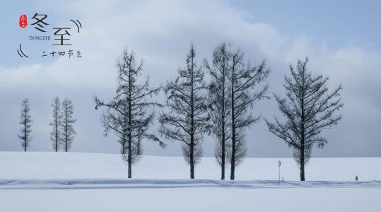 冬至时节唯美雪景