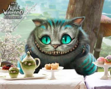 爱丽丝梦游仙境,柴郡猫,幻想