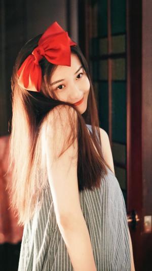 甜美可爱少女杨琪茹