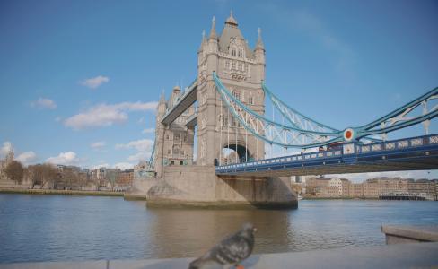 壮观优美的伦敦塔桥
