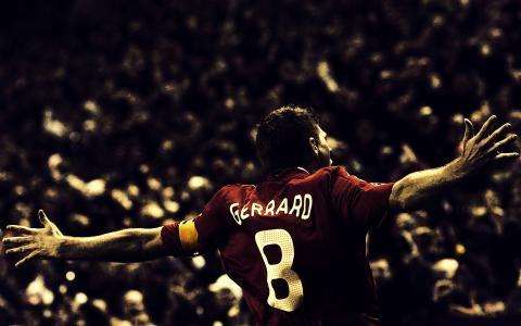 足球运动员,史蒂文杰拉德,利物浦,足球