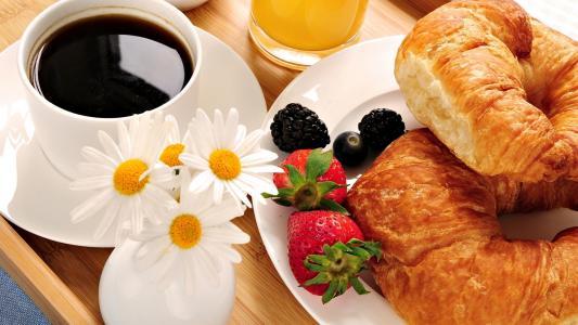 早餐,壁纸
