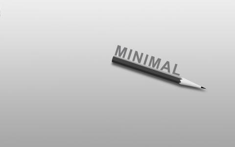 铅笔,词,极简主义