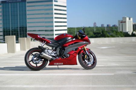红色,yzf-r6,自行车,p6,雅马哈,红色,雅马哈,spersport