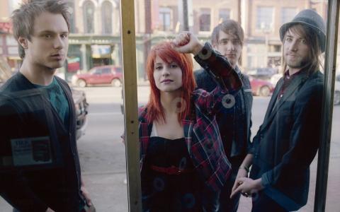 帕拉摩尔,乐队,音乐家,玻璃后面