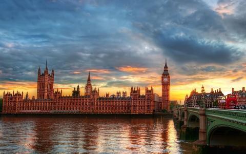 伦敦,主题,大本钟