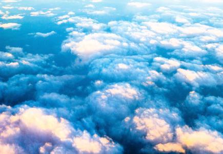 壮观唯美的云海景观