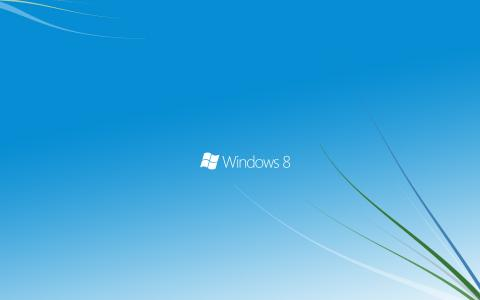 微软,Windows 8,蓝色