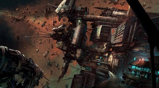 明星公民,空间站,碎片,空间