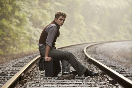 罗伯特·帕丁森,家伙,自然,铁路,睡眠者,手提箱,罗伯特·帕丁森
