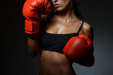 烧烤,女人,身体,性感,热,拳击手套,拳击,运动,健身,性感