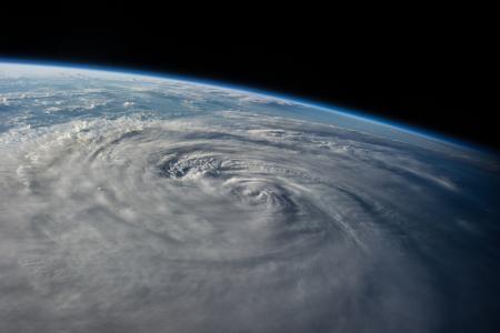 地球,星球,太空,台风哈龙