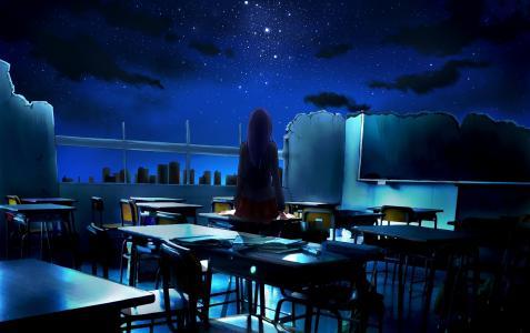 废墟,回来,类,女孩,ayura,艺术