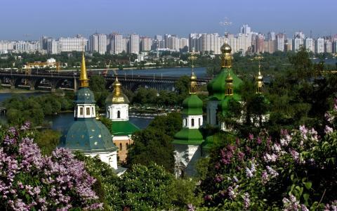 基辅,植物园,第聂伯河