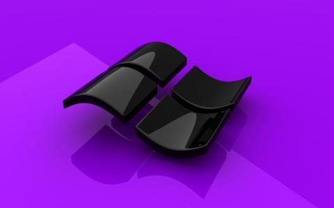 壁纸,微软,光泽,桌面,紫色,Windows