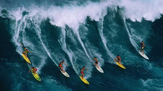冲浪,壁纸