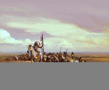 阿帕奇,印第安人