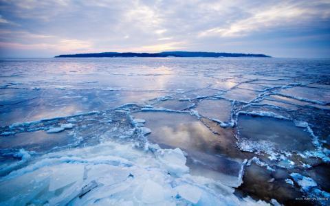 极地,holod,由robin de blanche,北极