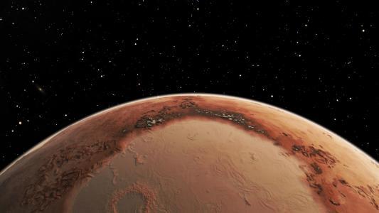 火星,行星,太空,星星,火星