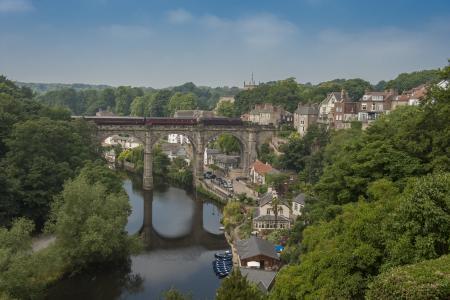 纳尔兹堡,英格兰,纳尔兹堡,英格兰,河,桥,海边,全景,景观