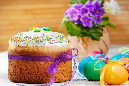 春天,鸡蛋,鲜花,复活节,复活节,春天,鸡蛋