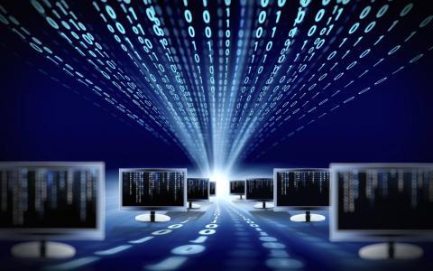 高科技,技术,监视器,IT