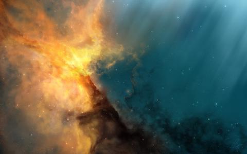 joejesus,星星,星云,射线