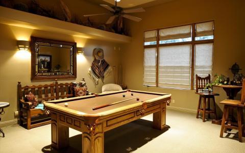 桌子,台球,室内,设计,房间,游戏室,房间,游戏