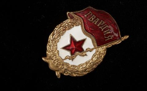 图标,卫兵,苏联,明星,国旗,黑色背景,宏