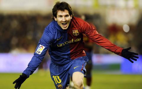 足球运动员,梅西,足球,喜悦