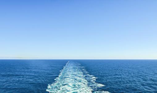 一望无际的大海