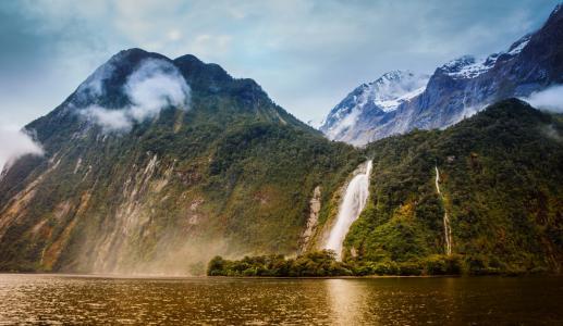 山脉,新西兰,南国
