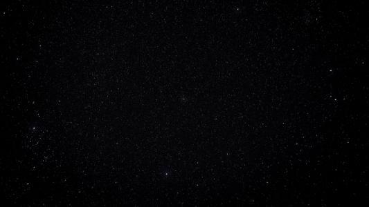 夜晚璀璨唯美星空