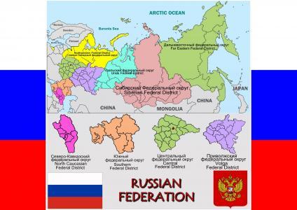 俄罗斯,地图,国旗,徽章
