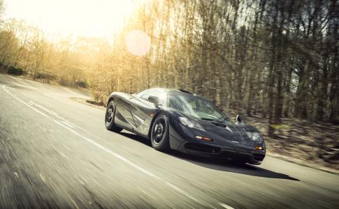 迈凯轮F1,麦克拉伦,F1,超级跑车,速度,道路,森林