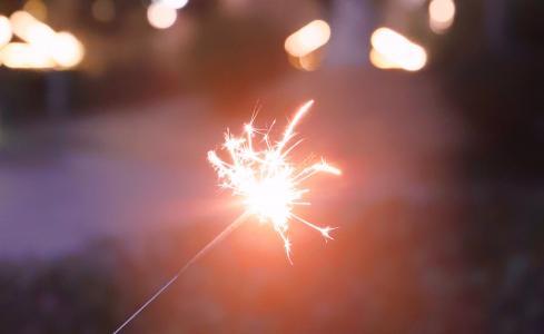 璀璨迷人的焰火