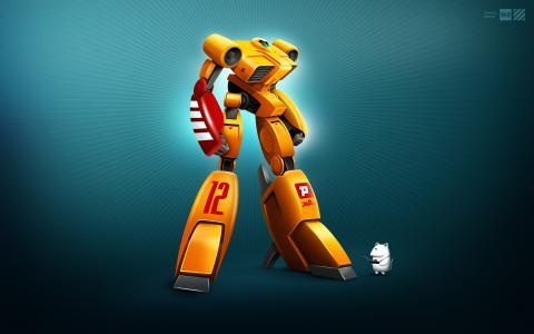 XL12,机器人,壁纸