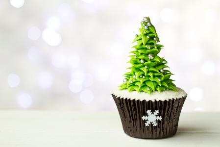 圣诞树,糖果,蛋糕,糖果