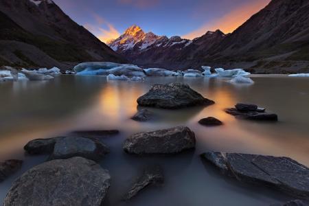 登上厨师,新西兰,国家公园