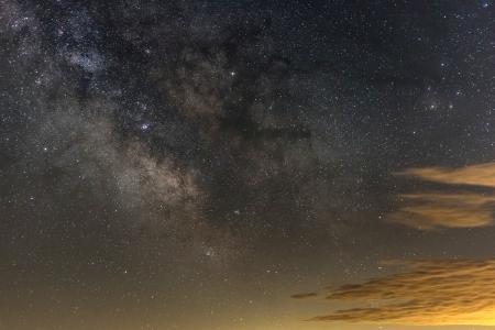 星罗棋布的夜空