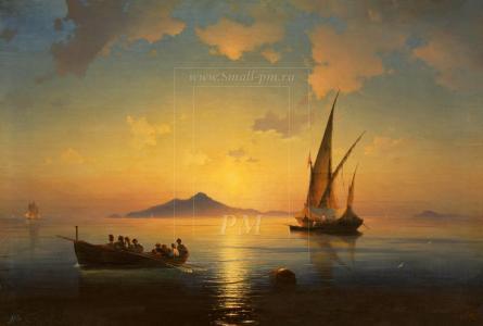 Aivazovsky,冷静,船