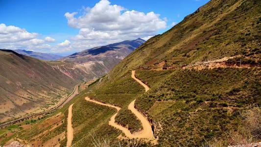 安第斯山脉优美风光