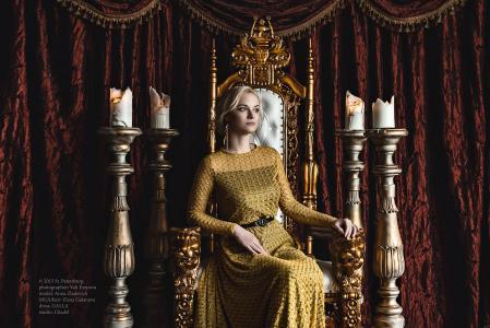 房间,窗帘,窗帘,扶手椅,美容,女士,坐,等待,蜡烛烛台,蜡烛