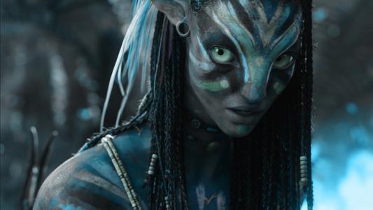 阿凡达,奈提莉,蓝色,双眼,阿凡达,奈提莉