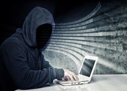 显示器,笔记本电脑,黑客